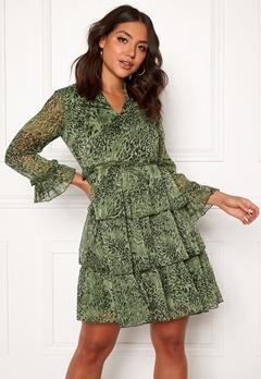 Y.A.S Shanna 7/8 Dress Chive Bubbleroom.eu