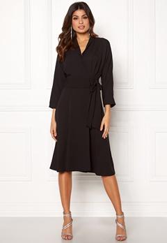 Y.A.S Unika LS Dress Black Bubbleroom.eu