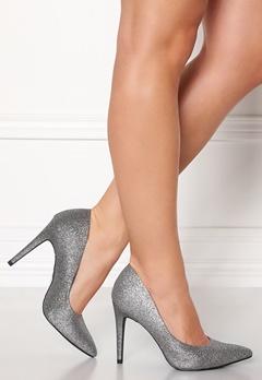 New Look Yummy Glitter Heel Silver Bubbleroom.eu