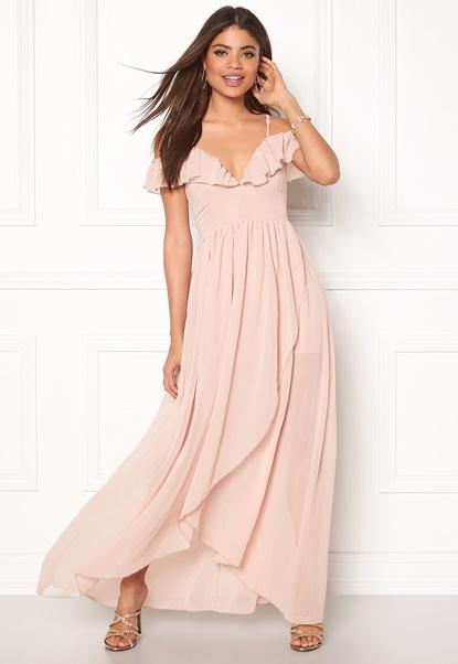 Girl In Mind Maxi Dress Light Pink Bubbleroom.eu