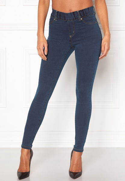 Happy Holly Elwira jeggings Dark denim Bubbleroom.eu