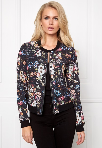 Make Way Emerly Bomber Jacket Floral Bubbleroom.eu
