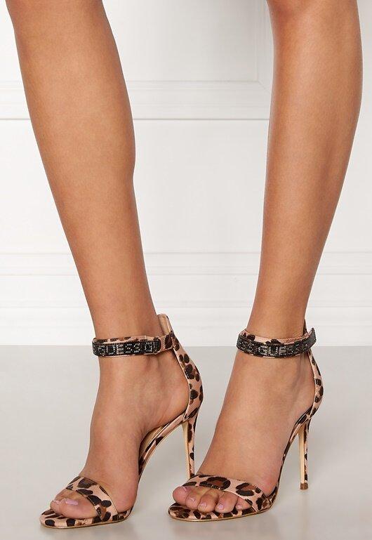 Guess Kahlun High Sandal Leopard Bubbleroom