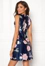 Floral Print Skater Dress