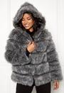 Roma Faux Fur Hood Coat