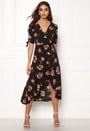 Floral Tie Wrap Dress