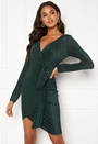 Wrap Front Mini Dress