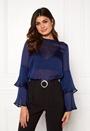 Nadia flounce shirt