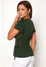 Palermo lace-up smock top