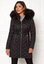 Sarraceno Quilted Fur Jacket