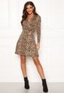 Sonnet shawl collar wrap Dress