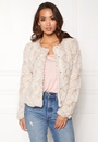 Curl Short Fake Fur Jacket