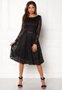 Lace Skater Midi Dress