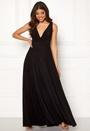 Pleated Oscar Dress