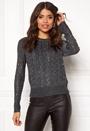 Ellie L/S Lurex O-Neck Pullover