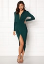 Long Sleeve Rouch Dress