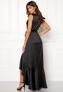 Wrap Frill Maxi Dress