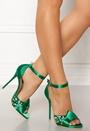 Leo Strap Heeled Sandal