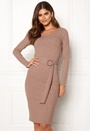 Camille belted dress