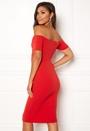 Go Twist Bardot Dress