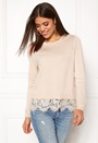 Cilla L/S Lace Pullover
