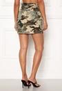 Lene Camo Short Skirt