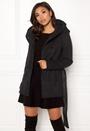 Lisa Hooded Wool Coat