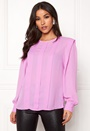 Chanelle LS Pleat Top