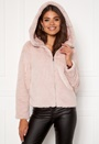 Thea Hoody Short Faux Fur