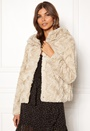 Curl Hoody Faux Fur Short