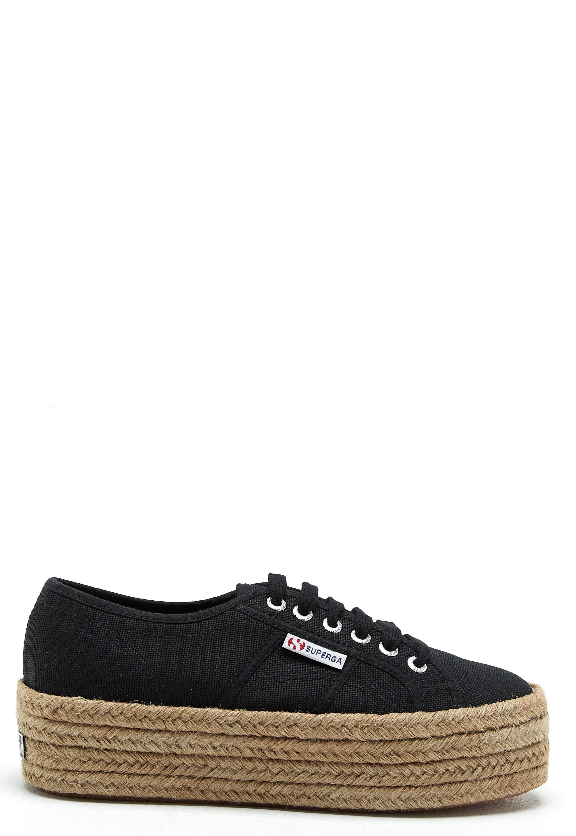 Superga Cotropew Sneakers Black