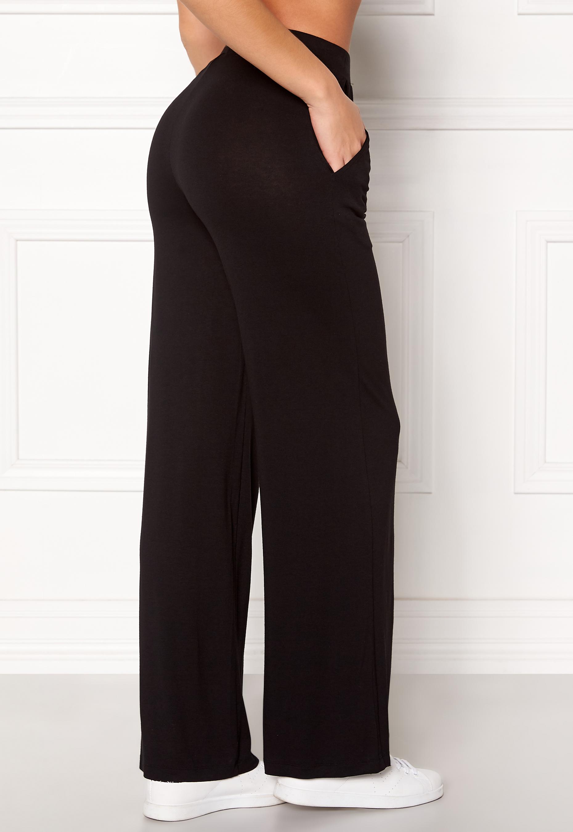 4a232567 77thFLEA Alanya trousers Black - Bubbleroom