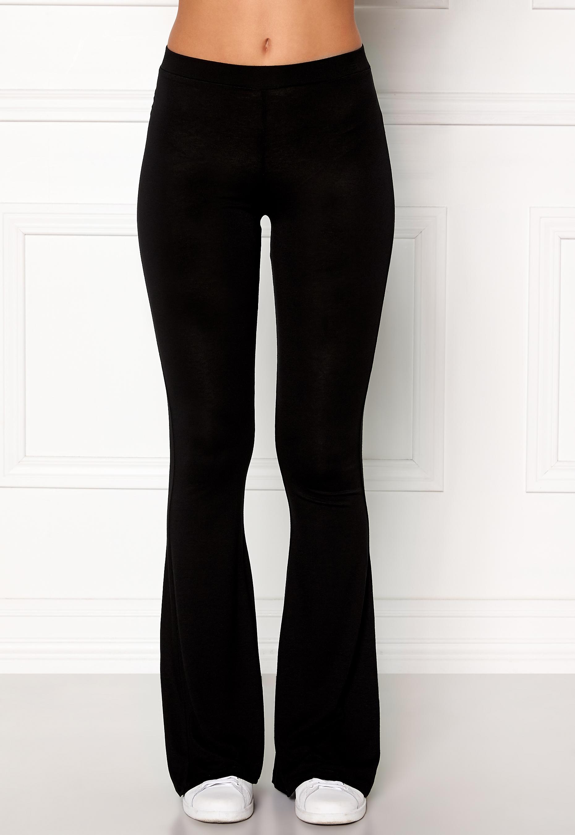 5a2571d5 77thFLEA Cozensa trousers Black - Bubbleroom