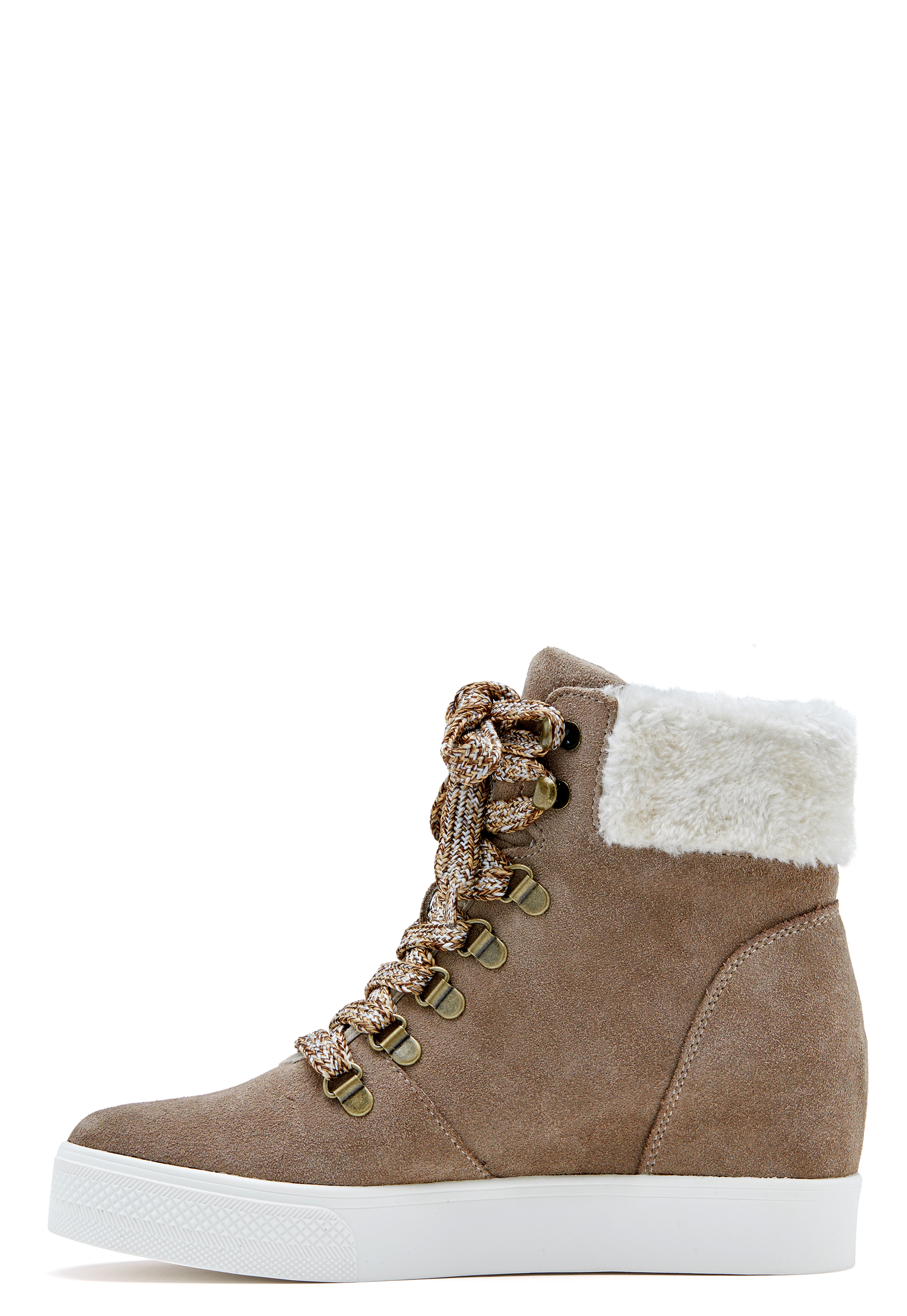 edb32861c90a Steve Madden Windy Suede Boots Taupe - Bubbleroom