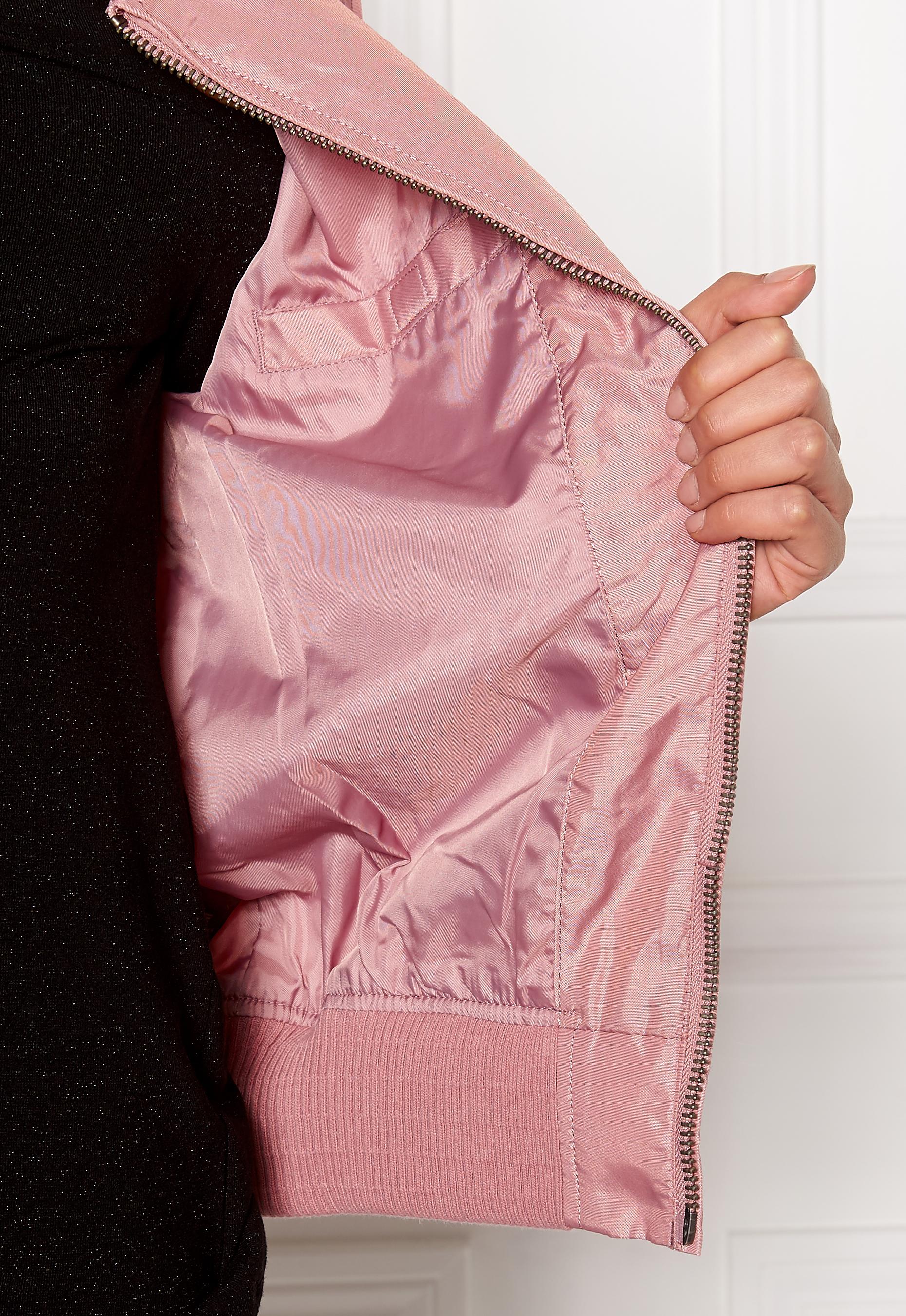 Alpha Industries MA-1 TT Silver Pink - Bubbleroom 994ce1d212789