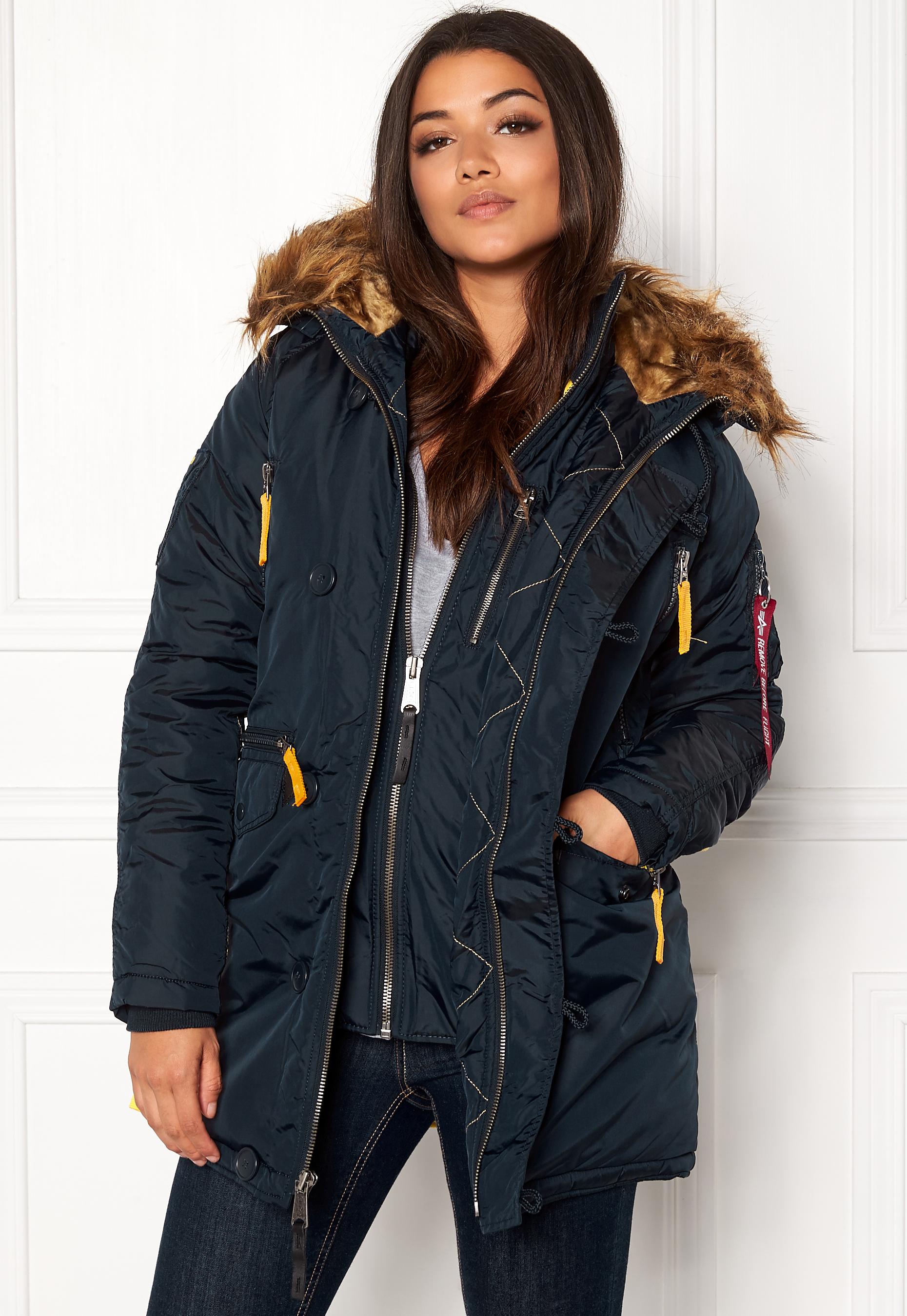 online store 58714 b3215 Alpha Industries PPS N3B Jacket Rep Blue - Bubbleroom