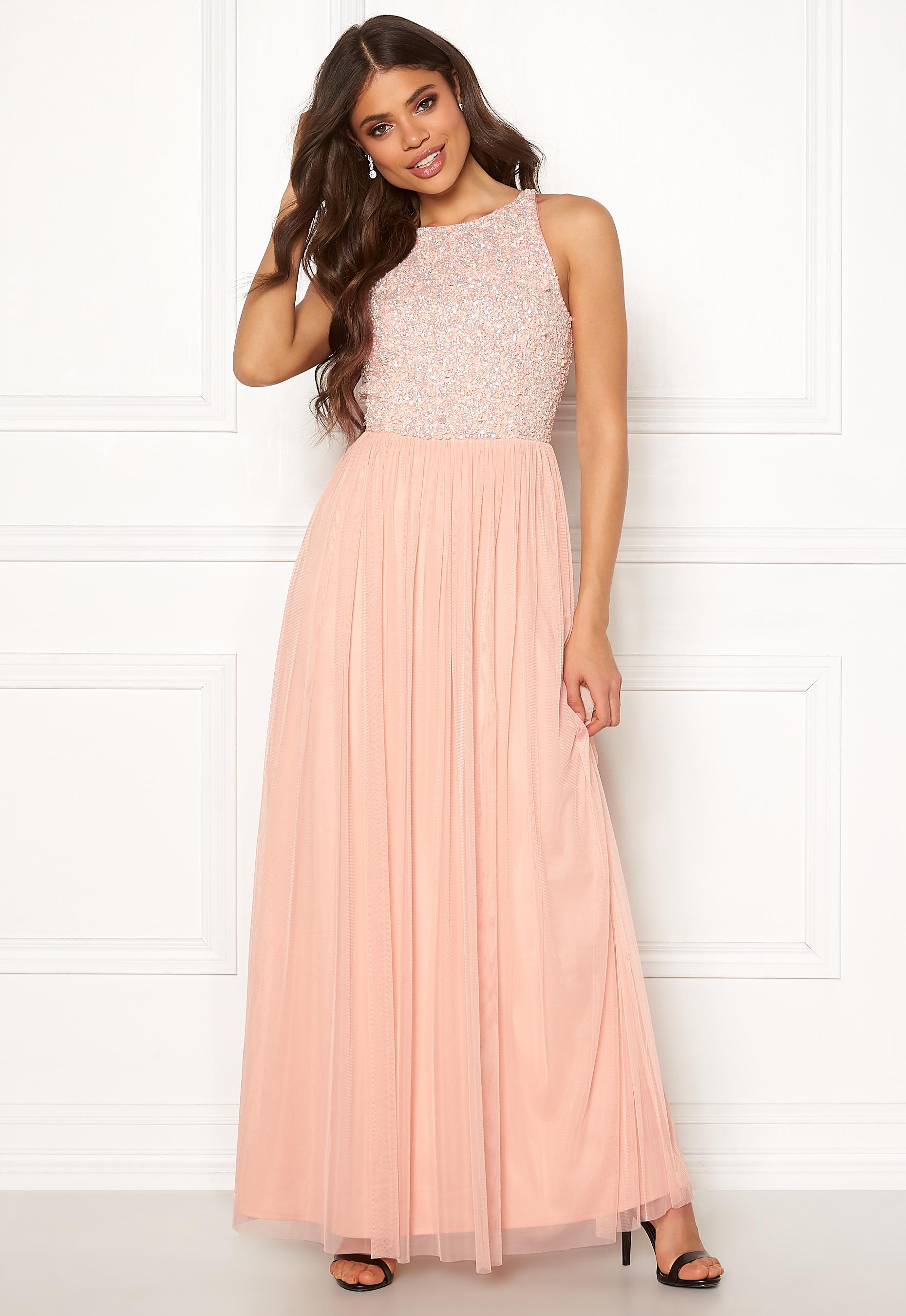 8a8052ded8bb AngelEye Sleeveless Bodice Dress Nude - Bubbleroom