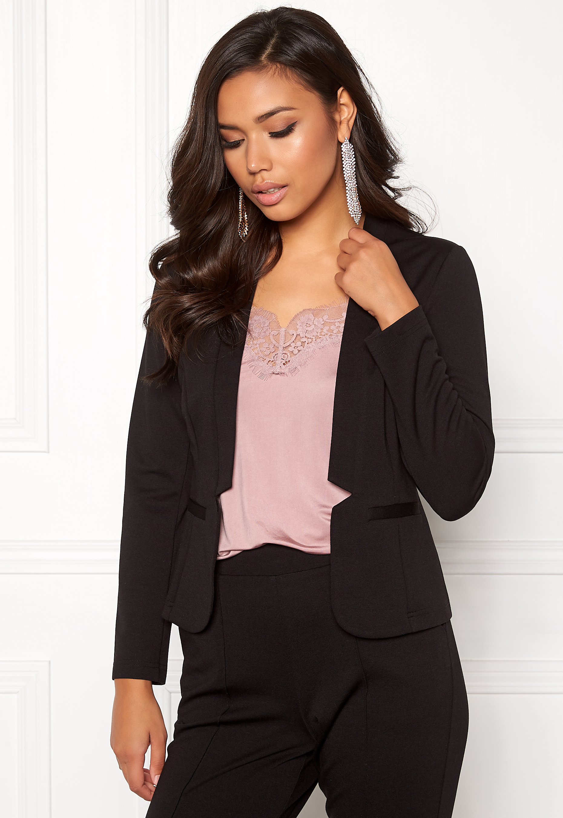 BUBBLEROOM Brienne blazer Black - Bubbleroom 743b7b7461733