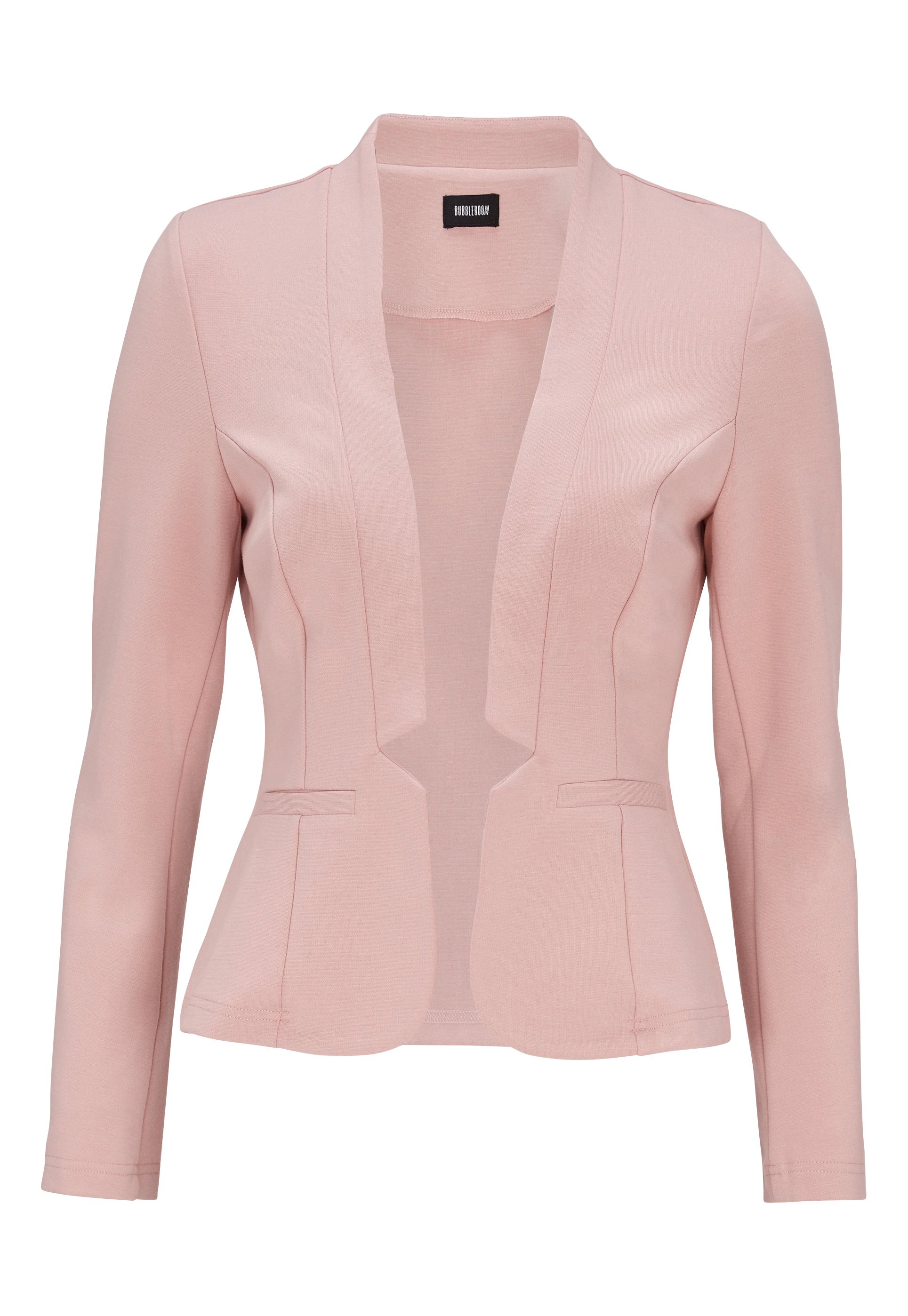 BUBBLEROOM Brienne blazer Dusty pink - Bubbleroom de64053701b80