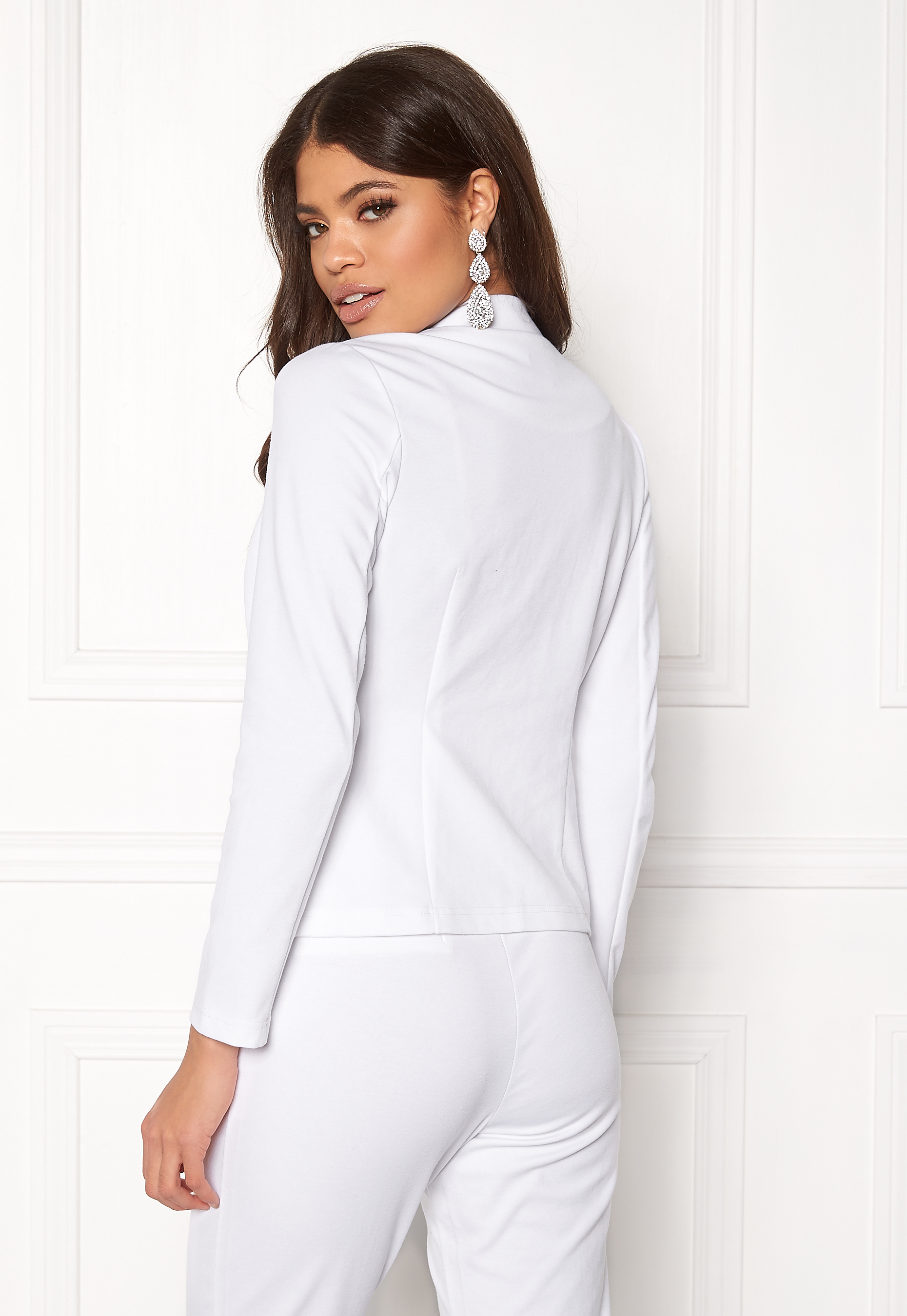 BUBBLEROOM Brienne blazer White - Bubbleroom d77f55081a423