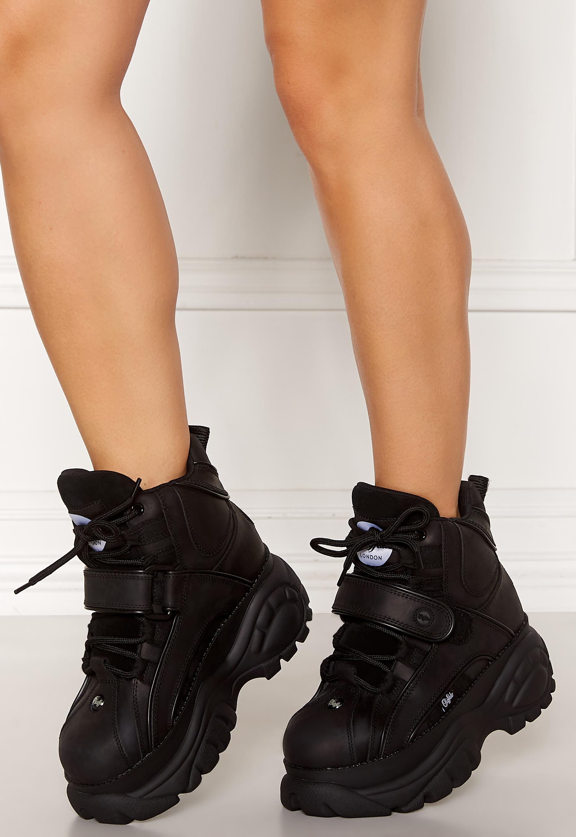 Buffalo Shoes Black - Bubbleroom