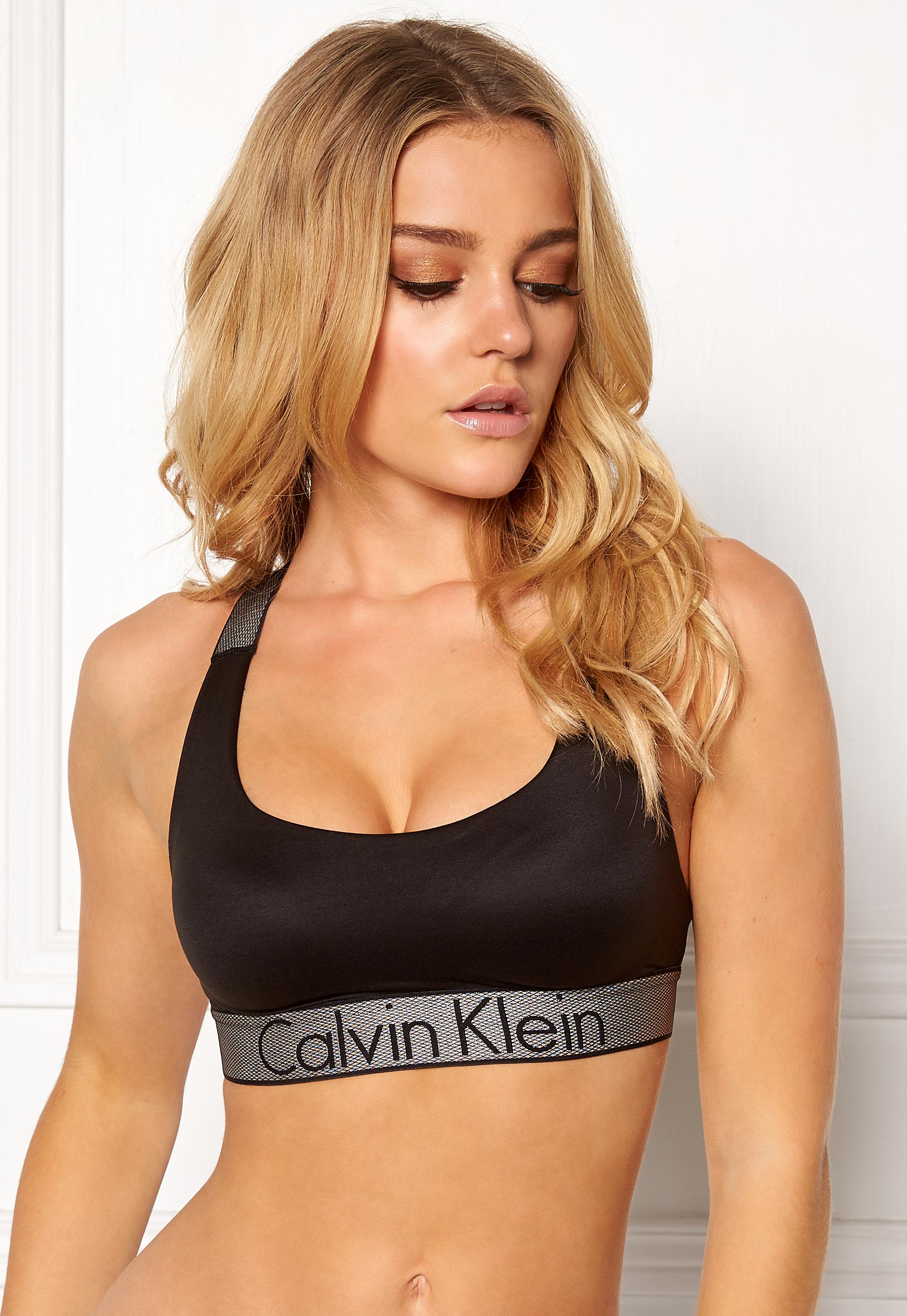 1aafa7df9 Calvin Klein Lightly Lined Bralette Black - Bubbleroom