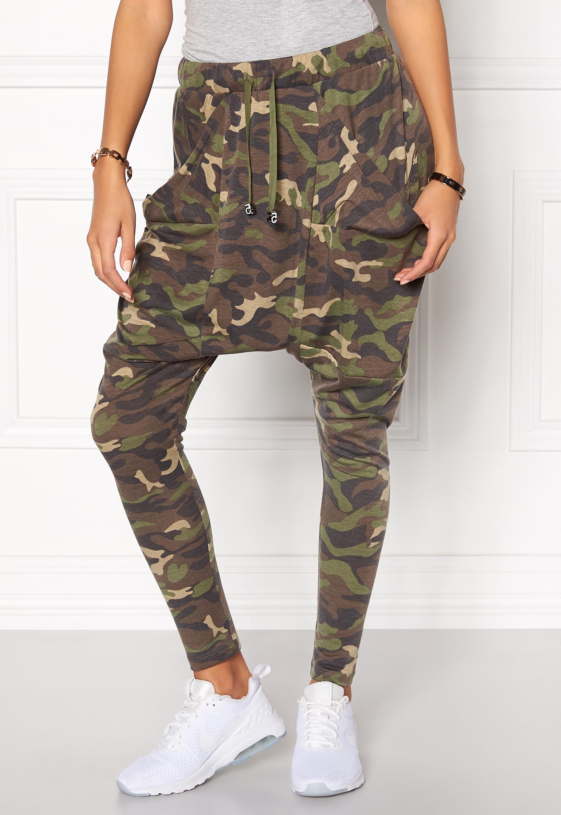 stiluri de moda 100% de înaltă calitate pantofi de separare Chiara Forthi Army Pantaloni Camouflage - Bubbleroom