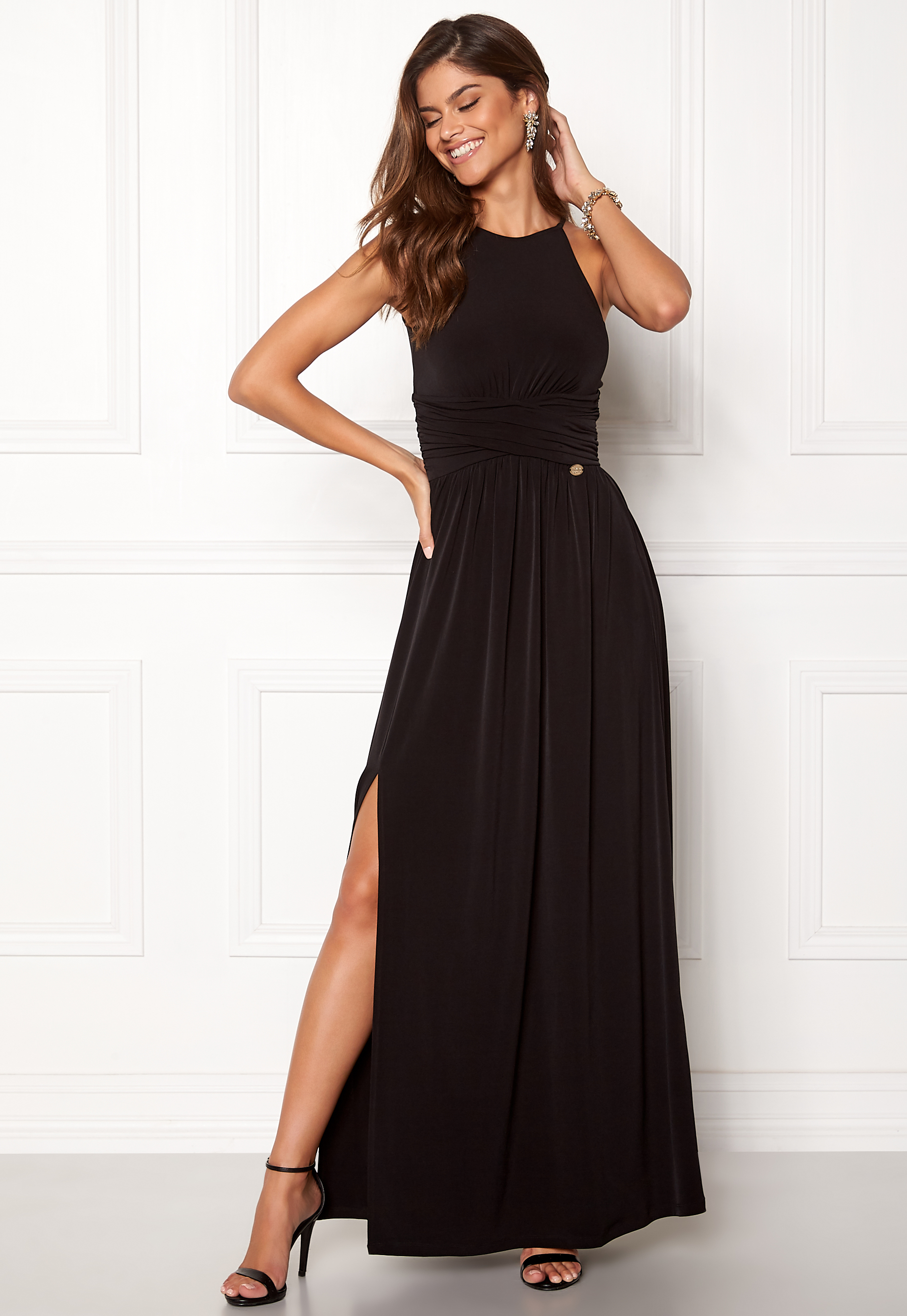 Chiara Forthi Erica Maxi Dress Black - Bubbleroom 00f123b81f