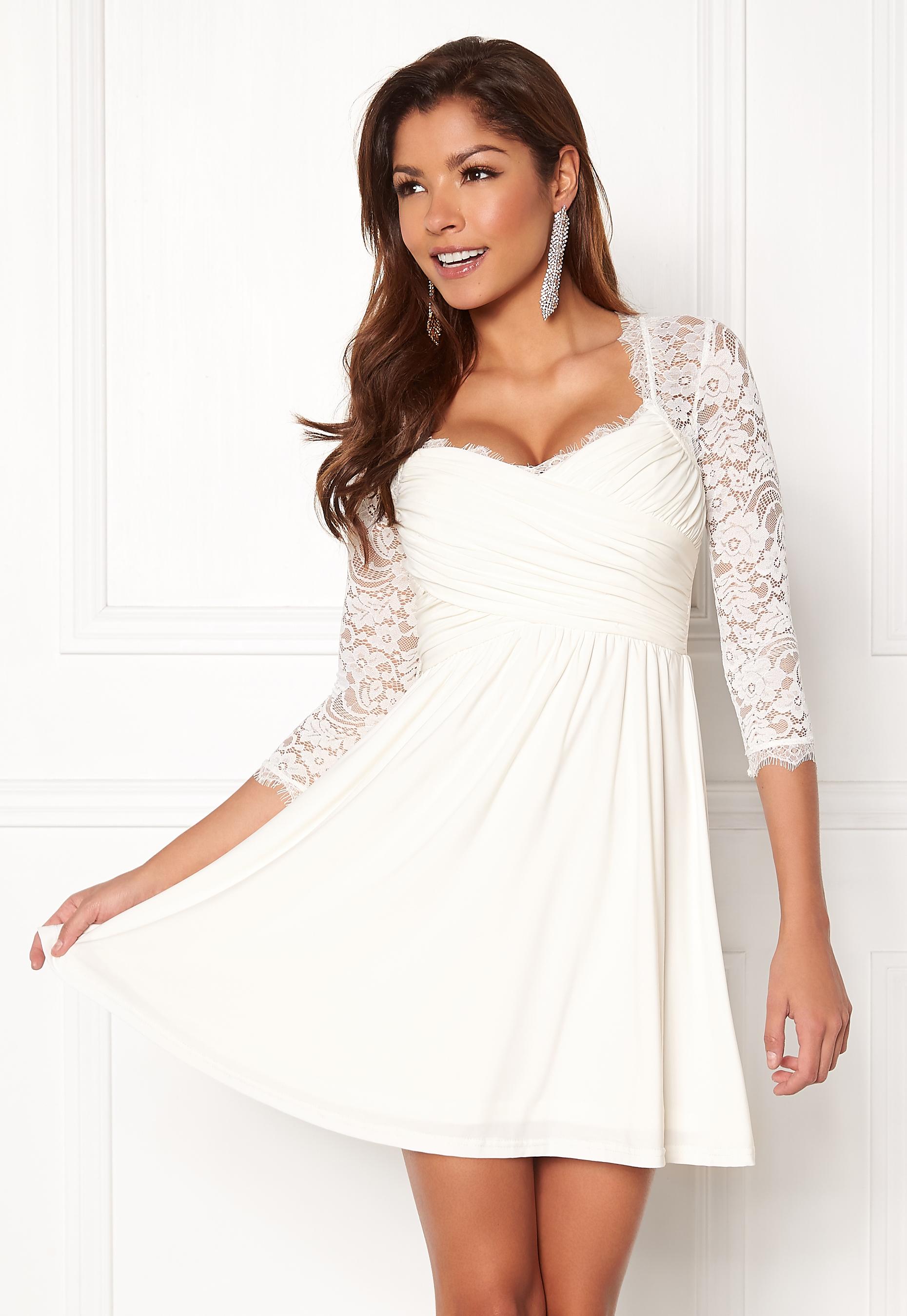 98508ab1 Chiara Forthi Natalia Dress White - Bubbleroom