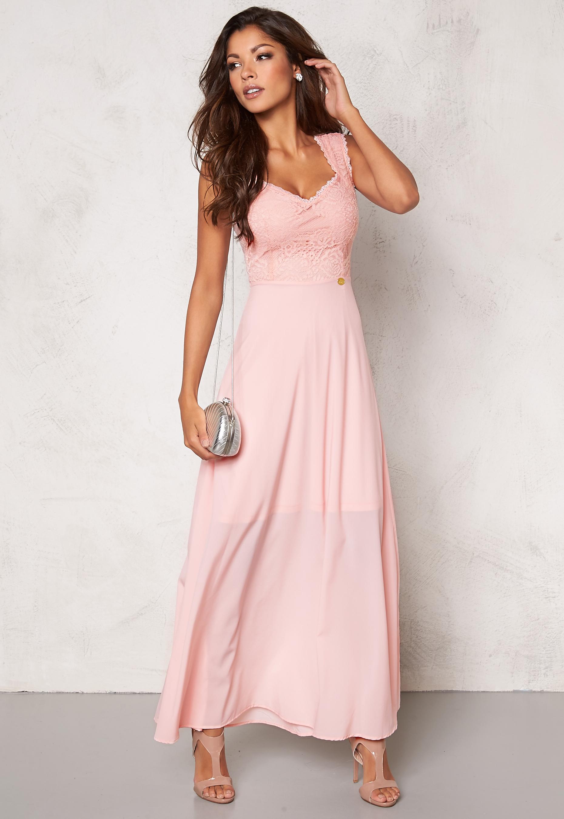 17aa64b88278 Chiara Forthi Piubella Long Dress Light pink - Bubbleroom