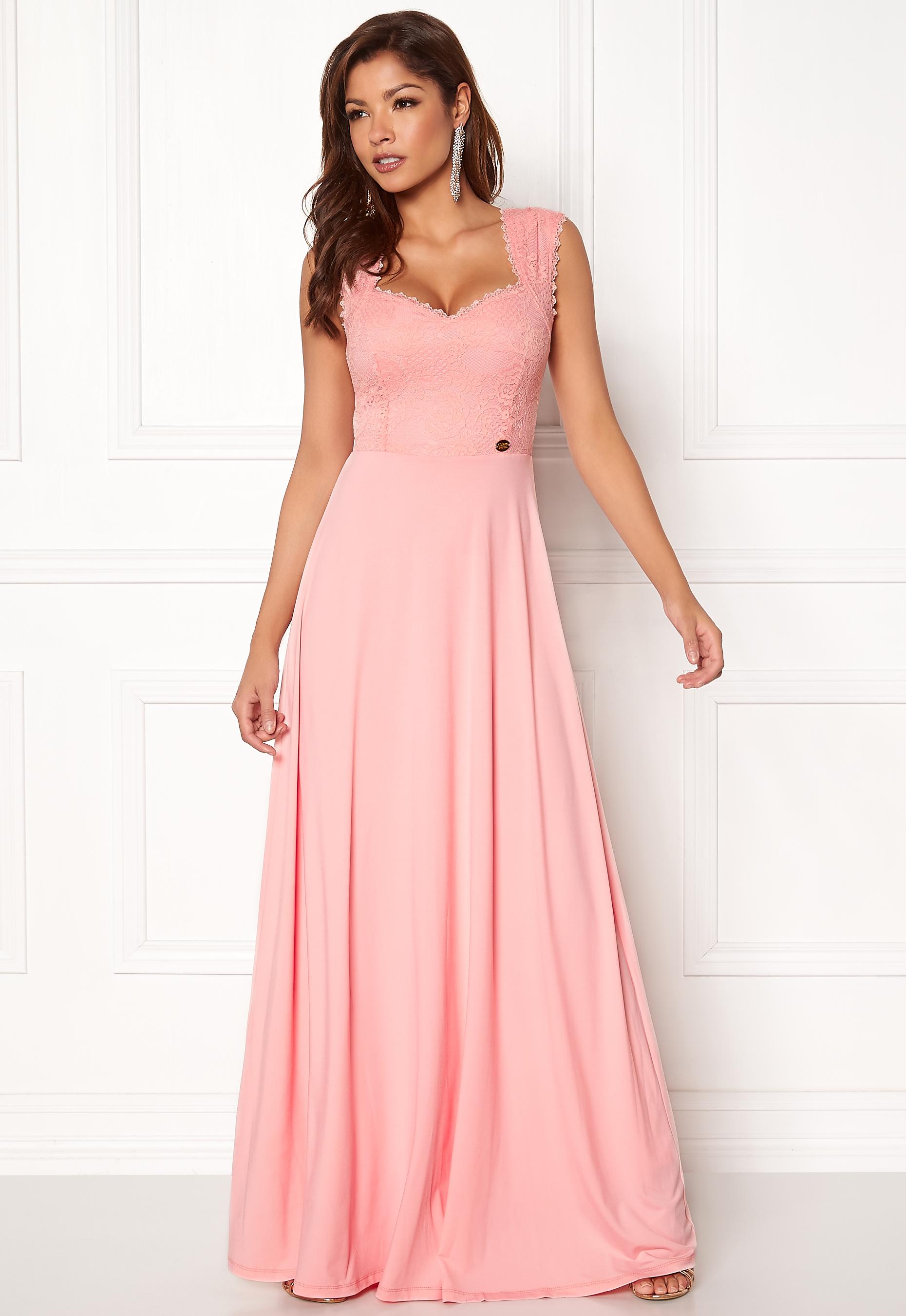 956ffc38d942 Chiara Forthi Piubella Maxi Dress Pink - Bubbleroom
