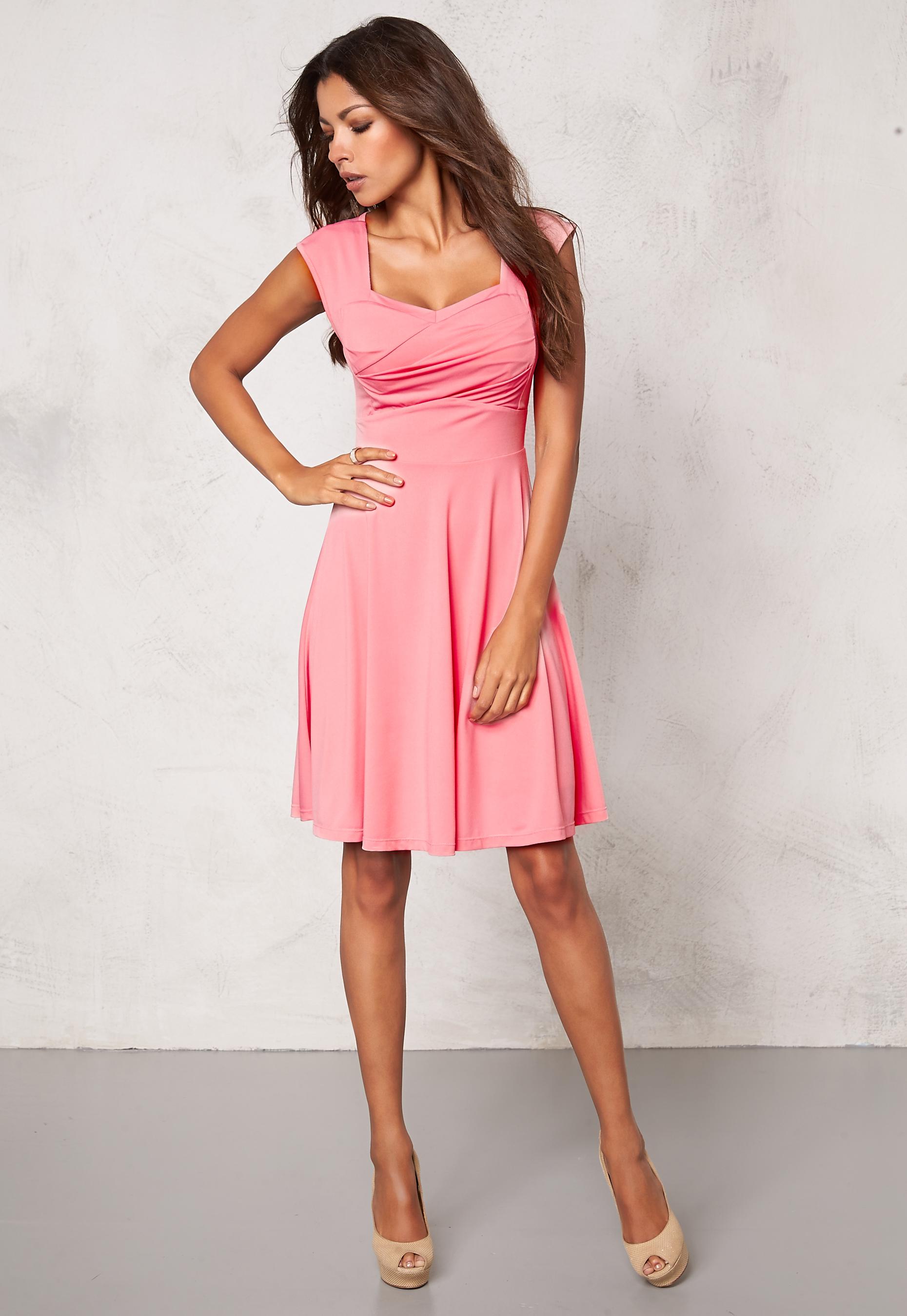 ab4bd4fabf25 Chiara Forthi Suelly Dress Light pink - Bubbleroom