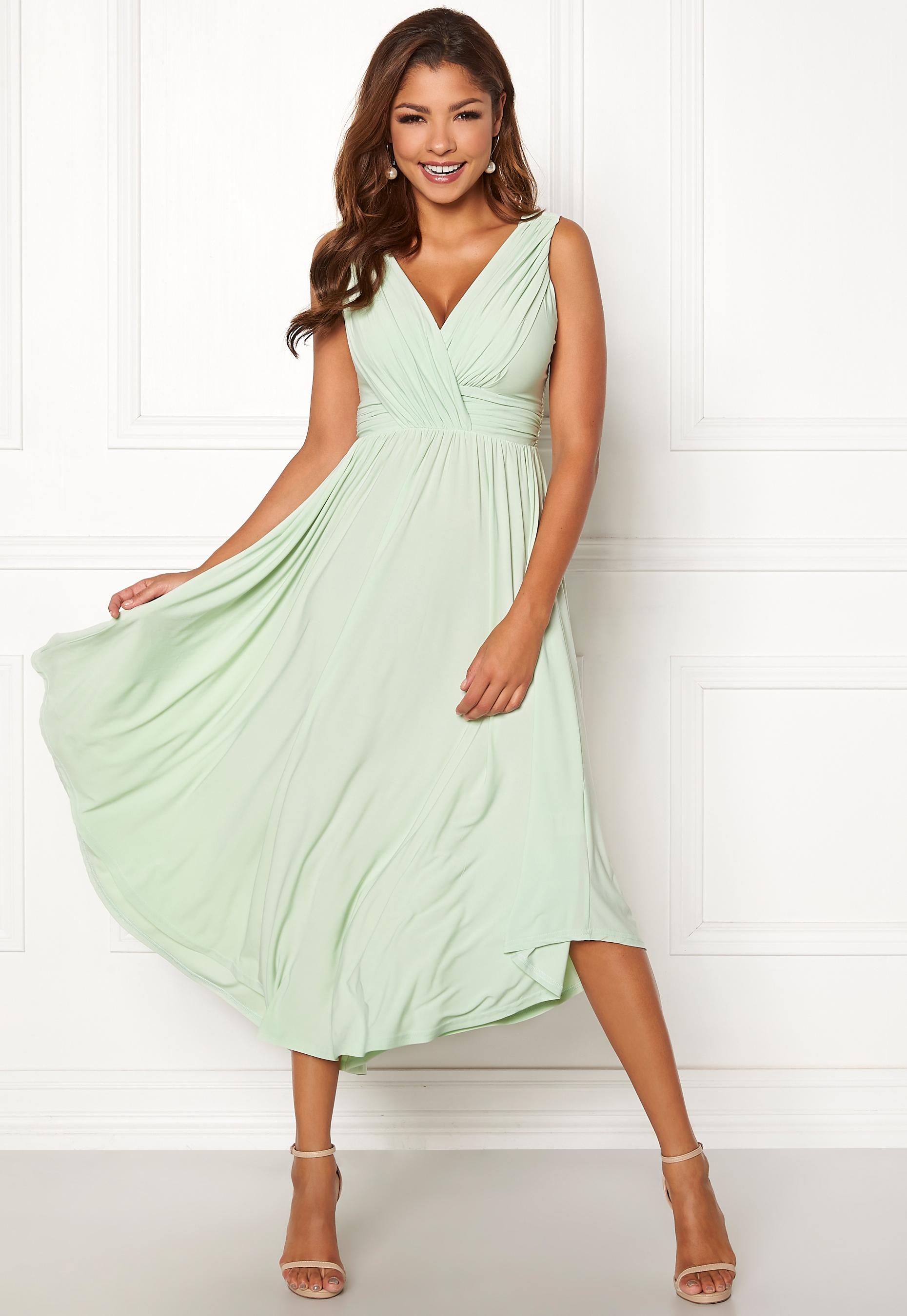 308e7d20 Chiara Forthi Valeria Dress Light green - Bubbleroom