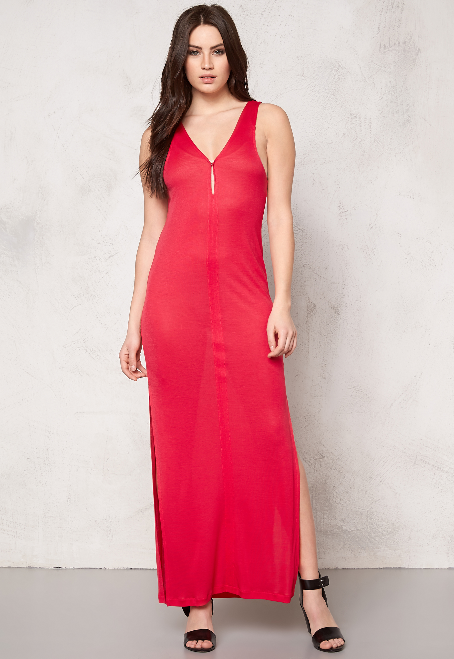 863874554ad6 DAGMAR Inaya Dress 248 Raspberry Red - Bubbleroom